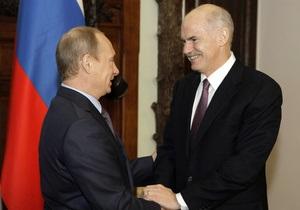 Путин встал на защиту погрязшей в долгах Греции: Кризис пришел из-за океана