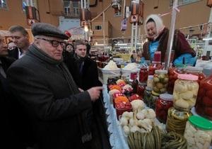 Жириновский скупился на рынке
