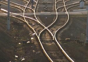 новости Донецкой области - поезд - В Донецкой области сошел с рельс грузовой поезд