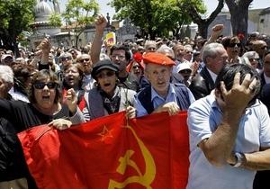 Фотогалерея: Португалия скорбит. Тысячи людей пришли проститься с Жозе Сарамаго