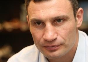 Кличко обсудил с Саакашвили нынешнюю ситуациию в Украине
