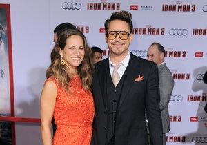 Премьера Железного человека-3 в Лос-Анджелесе. Платья и костюмы