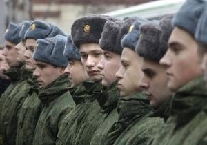 В России в Центральном военном округе солдатам запретили петь песни на морозе