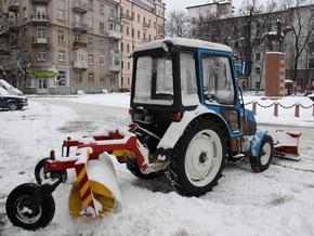 Для киевских дорог к зимнему периоду заготовят 36 тонн технической соли