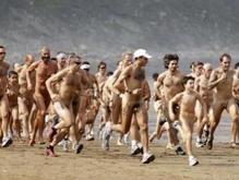 Голый марафон