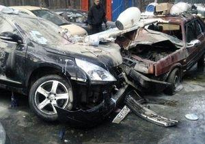 Козловский попал в аварию