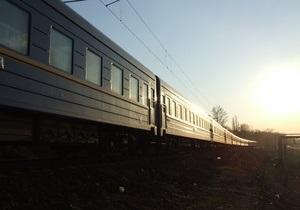 В Днепропетровской области сошел с рельсов пассажирский поезд