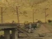 Под опорой моста между Грузией и Арменией взорвалась мина