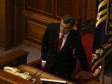Рада почти готова к приходу Ющенко
