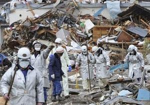 Японская полиция обнаружила при разборе завалов на побережье свыше $12 миллионов