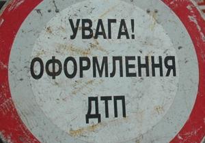 В Харькове Mitsubishi сбил двух пешеходов
