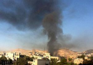 Во время тренировки футбольной команды в Дамаске стадион обстреляли из миномета, один спортсмен погиб