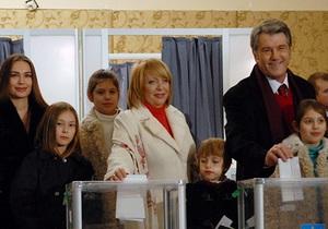Ющенко отпразднует день рождения без  громких банкетов