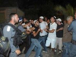 В Израиле вновь вспыхнули арабо-израильские столкновения