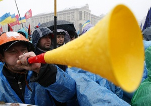 Акция протеста на Майдане продолжится до окончательного пересмотра Налогового кодекса
