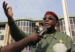 Правящая в Гвинее военная хунта решила отказаться от власти