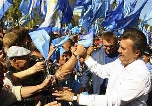 Янукович возвращается из США и собирается в Донецк