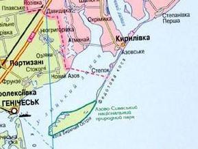 На Азовском побережье шторм отрезал от суши шесть баз отдыха