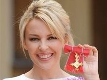 Кайли Миноуг награждена Орденом Британской империи