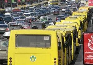 К осени в Киеве исчезнет 24 маршруточных рейса