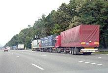В Киев запрещен въезд грузовиков с семи утра до восьми вечера