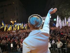 Тимошенко выдвинут в президенты с Майдана