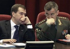 Медведев отправил  в отставку 15 генералов МВД