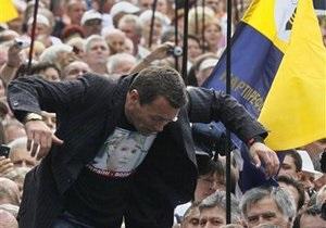 В торжествах по случаю Дня Независимости приняли участие более миллиона украинцев