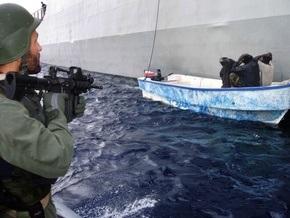 Сомалийские пираты захватили бельгийское судно
