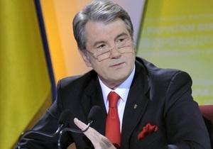 Газовый рынок: Ющенко требует от Тимошенко прекратить лоббировать собственные интересы