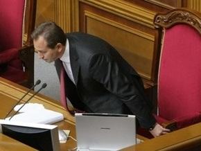 БЮТ вызвал Томенко из Крыма, чтобы открыть внеочередное заседание Рады