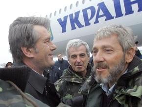 Ющенко намерен наградить экипаж Фаины
