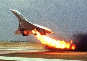 Французский суд назвал виновных в крушении самолета Конкорд в 2000 году