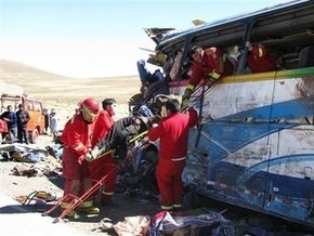 Число погибших в ДТП в Перу увеличилось до 23 человек