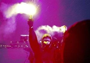 ОМОН разогнал шествие националистов в Останкинском парке
