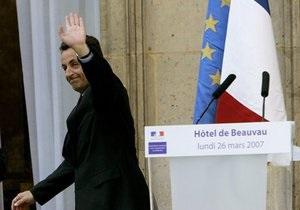 Саркози уйдет из политики в случае проигрыша на выборах