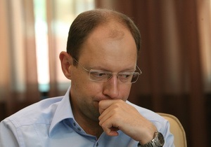 Яценюк спросил генпрокурора, на каких основаниях против Тимошенко возбудили дело