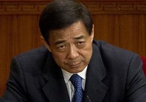 Влиятельного китайского политика, замешанного в скандале, исключили из ЦК Компартии