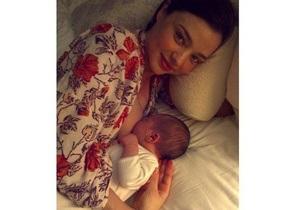 Орландо Блум и Миранда Керр показали новорожденного сына