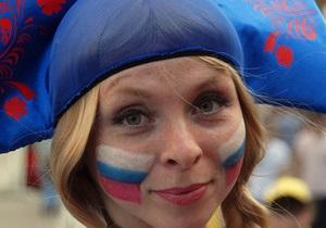 В Польше украинские волонтеры помогают российским болельщикам