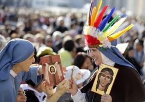 Ватикан впервые канонизировал североамериканскую индианку