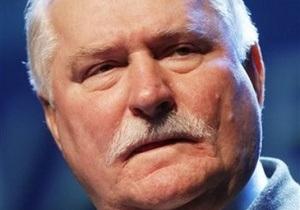 Валенса просит украинскую власть не идти по пути арестов лидеров оппозиции