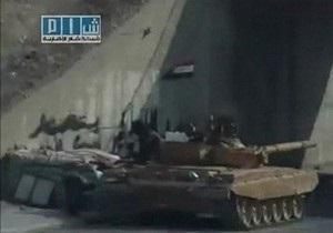 Сирийские танки обстреливают Хаму третью ночь подряд