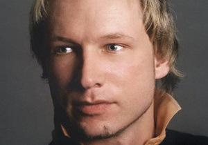 Норвежская полиция не будет продлевать срок изоляции для Брейвика