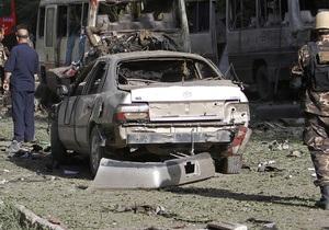 Взрыв у парламента в Кабуле был направлен против лидера этнического меньшинства