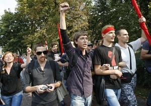 МВД: Среди протестующих студентов есть футбольные хулиганы