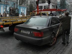 В Киеве появятся эвакуаторы с системой  GPS