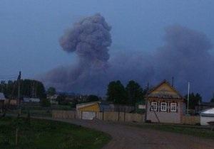МЧС России подтверждает полную ликвидацию пожара на арсенале в Удмуртии