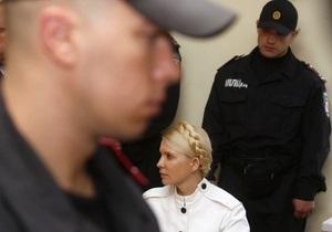 Суд завершил оглашение письменных доказательств по делу Тимошенко