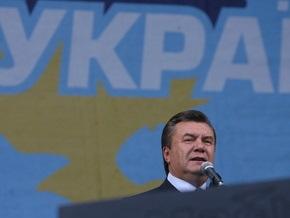 Янукович: ПР избавляется от балласта